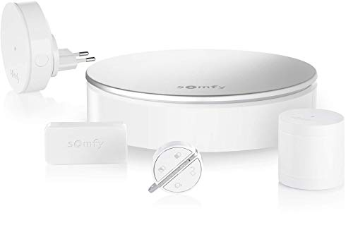 Somfy 2401511 - Home Alarm Starter Pack - Système d'Alarme Appartement sans Fil Connecté - Compatible avec Alexa, l'Assistant Google et TaHoma - Somfy Protect