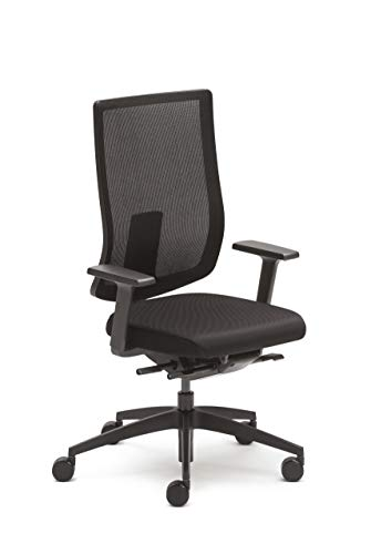 Sedus se:do Bürostuhl, Drehstuhl, Designstuhl, Schreibtischstuhl Schwarz, teilzerlegt