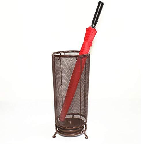 Stockage debout Cadre de parapluie perforation en métal tubulaire, porte-parapluie/support en treillis métallique