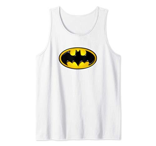 Batman Airbrush Bat Symbol Tank Top