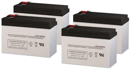 PCM Powercom King Pro KIN-2200AP UPS Replacement Batteries - Set of 4