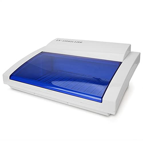 blanco UV Caja, con Abdominales 8w Energía Usar Luz Desinfectante por Joyas Móvil Teléfono Toalla Manicura Cepillo de dientes Ropa interior Pequeña Herramientas
