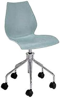Kartell 28788M - Silla de Escritorio de Oficina, Color Azul Claro