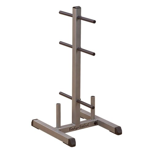 Body-Solid Standard Weight Plate Tree and Bar Holder (GSWT)