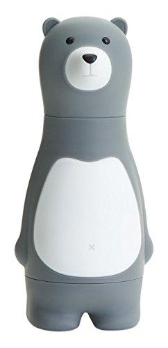 Schraubendreher Set Bär mit 6 Bits - Farbe: Grau