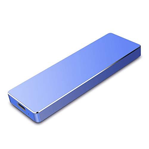 Hard Disk 2tb Esterno Portatile USB 3.1 Hard Disk Esterno per PC, Mac, MacBook, Chromebook, Desktop, Laptop (2tb, blu)