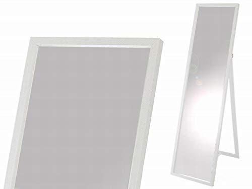 Gerimport Espejo de pie Blanco Medidas 37x4x123 cm