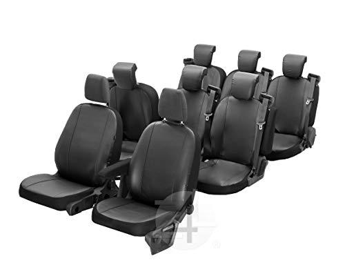 Z4L Sitzbezüge VIP Passgenau geeignet für Mercedes VITO W447 ab 2014-8 Sitze