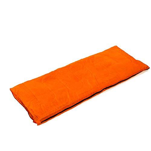 Calentar Bolso de dormir de camping Sobre Portátil Ligero, Impermeable, Comodidad Bolsa de dormir con saco de compresión, excelente para 3 temporada para viajes de campamento al aire libre (Color: Azu