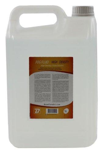 BoomToneDJ Nebelfluid, Flüssigkeit für Nebelmaschinen, Transparent, hohe Dichte L 5 L durchsichtig