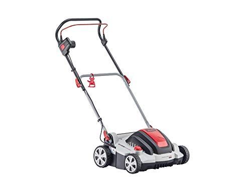 AL-KO Elektro-Vertikutierer Combi Care 36.8 E Comfort (36 cm Arbeitsbreite, 1400 Watt Motorleistung, Arbeitstiefe 5-fach zentral verstellbar, inkl. Vertikutierwalze für Rasenflächen bis 800 m²)