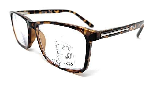 Gafas de lectura multifocales progresivas, presbicia, vista cansada, Progresivo. Diseño en 5 Colores. VENICE MULTIFOCUS - Dioptrías: 1 a 3,5