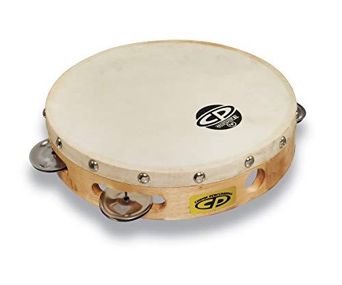 CP378 8' Wood Tambourine, Headed, Single...
