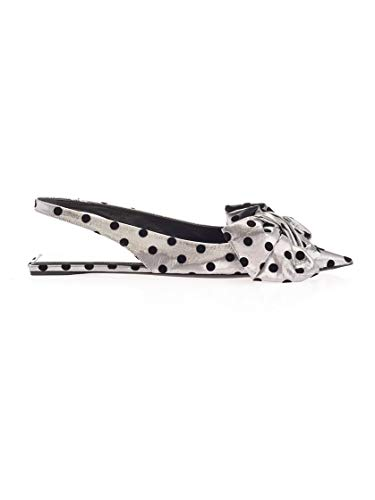 Luxury Fashion   Balenciaga Dames 569390W1SG08163 Zilver Nylon Sandalen   Herfst-winter 19
