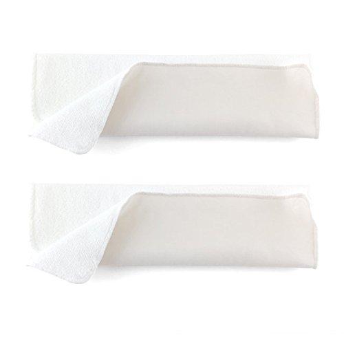 2 absorbants lavables Hamac en Microfibre pour couche lavable - réutilisable - Taille : 2 (pour couches M et L)