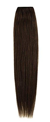 American Dream de qualité Platinum 100% cheveux humains 50,8 cm trame Couleur 6 – Brun Foncé Cendré