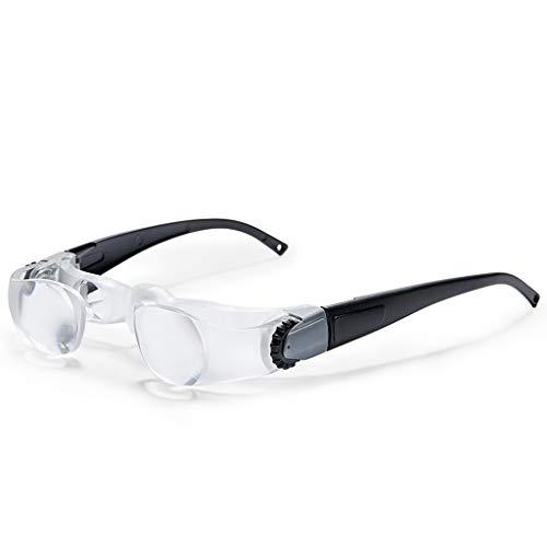 Lupa, lupa para ver televisión, gafas de alta definición, personas mayores, con larga distancia, lupa de tipo ayuda a la visión telescópica de pesca