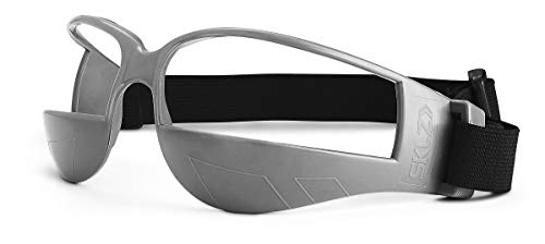 SKLZ Trainingsgerät Court Vision Basketball Dribble Trainingsbrille, Schwarz/Grau, One Size