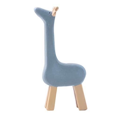 MEELLION Miniature Animals Decorations Resin Adornment Mini Craft Accessory for Wine Cabinet Office Car (Giraffe),Size Name:1pc,Colour:1pc Giraffe GYMJN (Color : 1pc Giraffe, Size : 1pc)