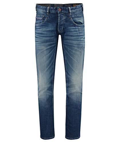 "PME Legend Herren Jeans Commander 2"" Regular Straight Fit Blue (82) 34/34"