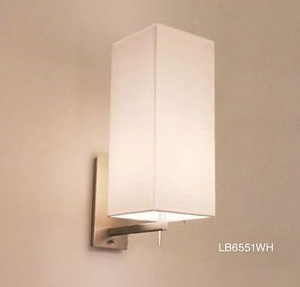 ディクラッセ ブラケットライト 《Serie》 白熱ミニ球60W 電球色 口金E17 壁付?ビス固定式 ホワイト LB6551WH
