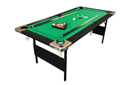 Billardtisch Pool Billard Tisch Grun Klapptisch 6FT Aladin