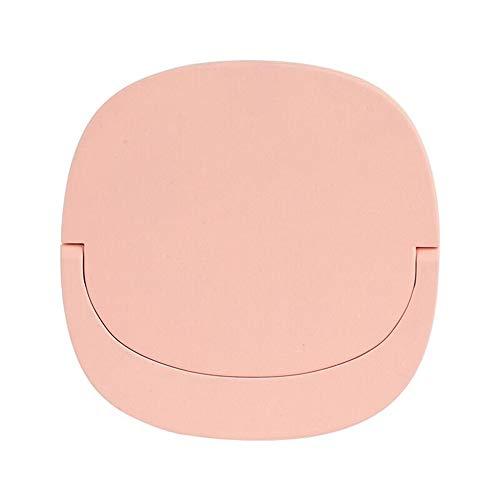 ZIEM Specchio per Trucco a LED Specchio per Trucco Illuminato con Carica USB Specchio cosmetico Intelligente 3-in-1 Lampada da Notte Mini Specchio per riempire la Luce Strumento di Trucco Portatile