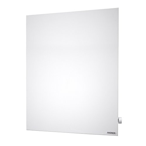 VASNER Konvi VE Hybrid Elektroheizung mit Thermostat vertikal 1000-1200 Watt, Infrarotheizung (1000 Watt)