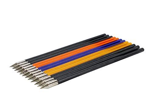 EMIYA Plastic Bolt Arrows for 50LB to 80LB Crossbow Pistols 12 Pack