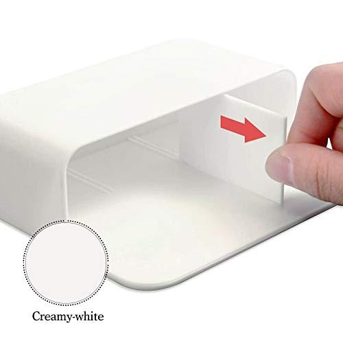 1 Pack Magnetic Dry Erase Marker Holder, Whiteboard Marker Holder, Mighty-magnetic Marker Pen Organizer for Whiteboards (White) Photo #4