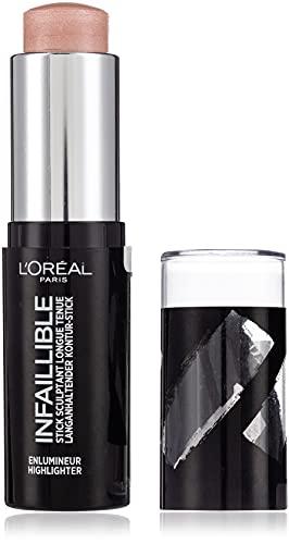 L'Oréal Paris Infaillible Illuminante Viso con Applicatore in Stick, Risultato a Lunga...