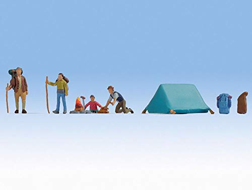 NOCH 0036876 N Figurenset Camping