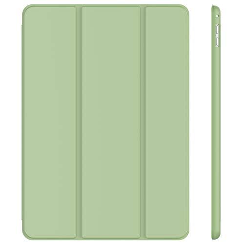 JETech Funda Compatible iPad Pro 12,9 (Modelo 2015 y 2017), Carcasa con Auto-Sueño/Estela, Verde Matcha