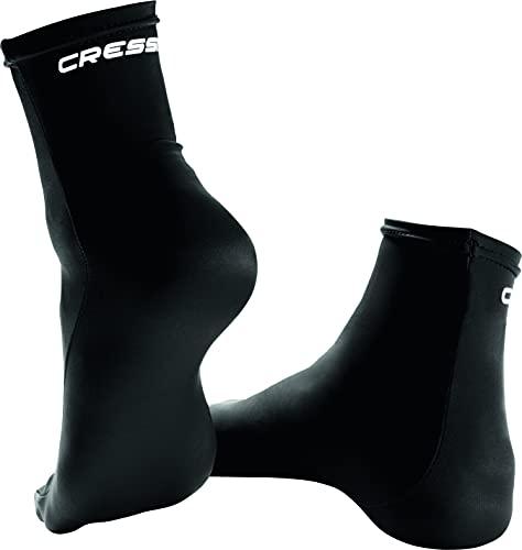 Cressi Fin Socks, Black, L/XL