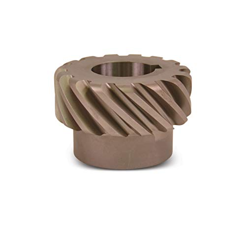 HS636L Plain Helical Gear, 45 Degree Helix, 14.5 Degree Pressure Angle, 1.250 Bore, 6 Pitch, 36 Teeth, Steel, LH, AGMA Grade 8