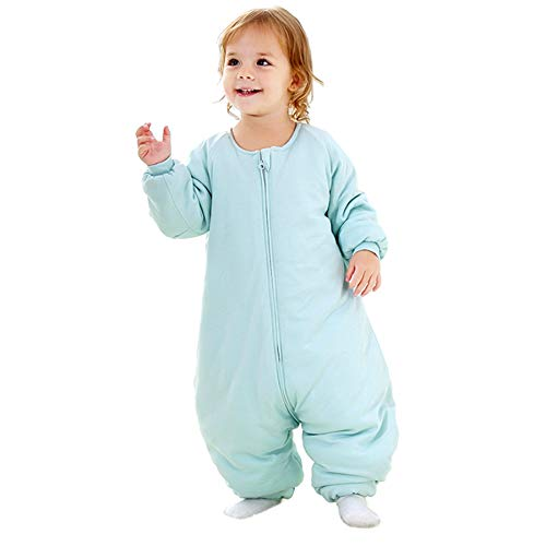 Baby Sleep Bag with Feet Winter, Wearable Blanket with Legs, Sack for Toddler Thicken 2.5 TOG (18-36...