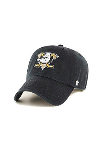 47 Unisex Clean Up Baseball Cap, Schwarz (Black - Ducks Black - Ducks), One Size