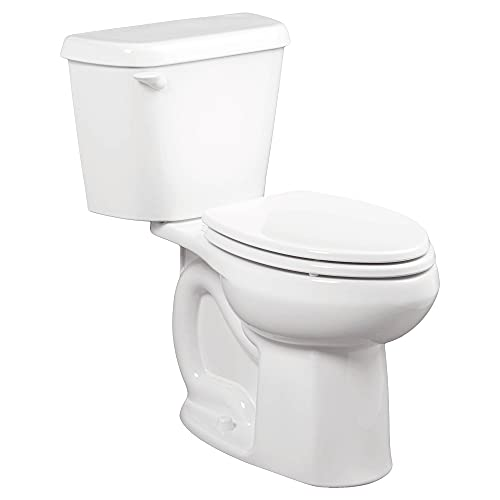 American Standard 221AA004.020 Colony 1.6 GPF 2-Piece Elongated Toilet with 12-In Rough GPF/12-Inch, White/Left Hand
