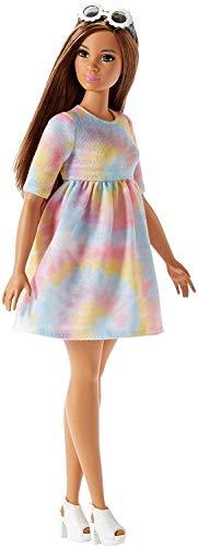 Barbie- Fashionistas Bambola Moda Tie Dye Uno Stile da Collezionare, FJF42