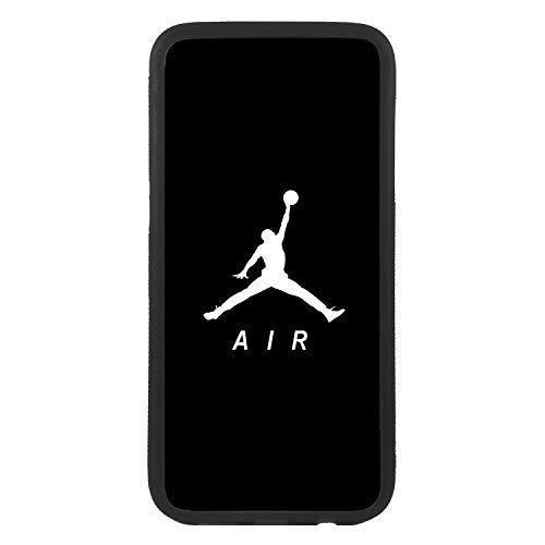 custom-cases Funda Carcasa de TPU para movil con diseño de Logo Nike Air Jordan Compatible con Samsung S6 Edge Plus