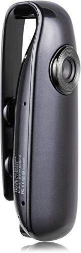 Lenofocus Mini Kamera Videokamera 1080P Full HD Body Cam mit Tragbare Taschenclip Kleine Kameras Videorecorder Sport DV DVR Dash Kamera für Home Office Sicherheit Mini Cam Polizei bodycam