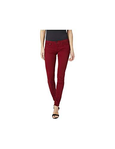 Pepe Jeans Soho Vaqueros, Rojo (Garnet), 26W / 32L para Mujer