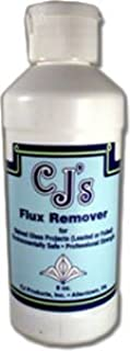 stained glass flux remover