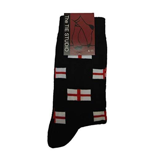 Chaussettes motif drapeaux d'Angleterre croix Saint-Georges