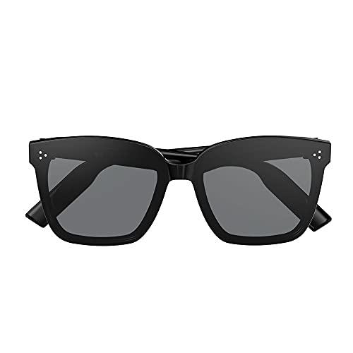STM32 by ST Bluetooth Smart Glasses Call Music Anti-Ultraviolet Bone Conduction Wear Fashionable Sun Sunglasses-Black Brown