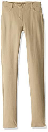 Nautica womens Uniform Stretch Jegging Casual Pants, Khaki, 7 9 US