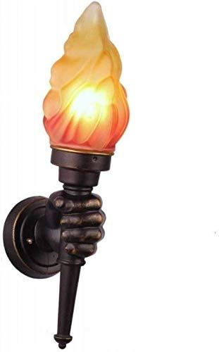 Sconce Wandlamp Modellering Warm Thuis Retro Creatieve Persoonlijkheid Restaurant Bar Cafe Slaapkamer Bedkant Decoratieve Wandlamp Unieke Indoor Verlichting Wandlampen