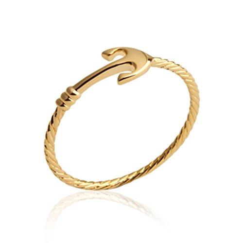 Isady–ankoriana Gold–Anello Donna–Placcato Oro 750/000(18carati) e placcato Oro, 18, colore: oro, cod. AnkorianaGold