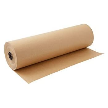 Kraft Paper Roll 30 X 1800 Inch - Brown Craft Paper Table Cover Packing Wrapping Paper