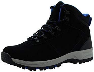 Amazon Essentials Men s Round Toe Lace Up Boot Hiking Shoe Black 12 Medium US product image